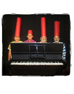 Three Bonzos And A Piano, photo Toby Wales